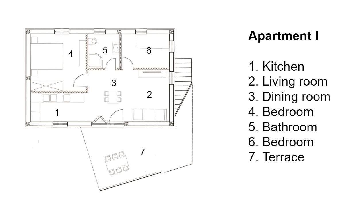 Apartman Corte I