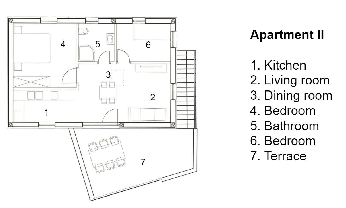 Apartman Corte II